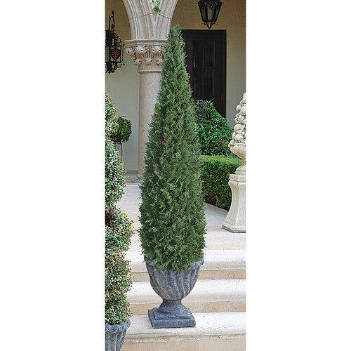 Design Toscano The Cone Topiary in Urn