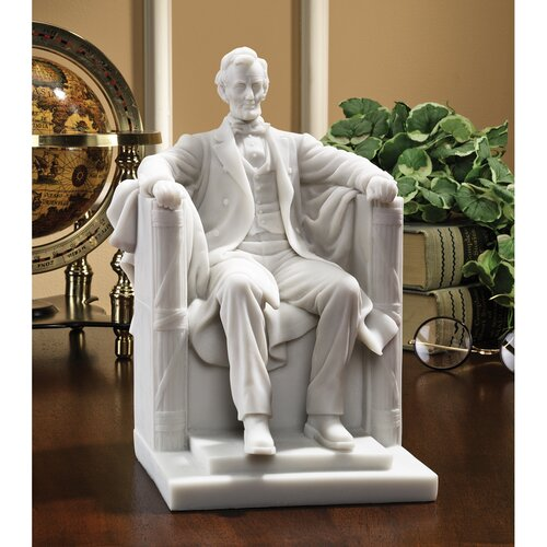 Abraham Lincoln Memorial Bonded Marble Resin Statue