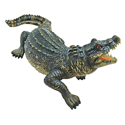Design Toscano The Agitated Alligator Swamp Gator Statue