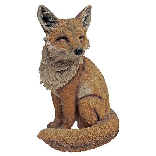 Fabian the Flamboyant Fox Garden Statue