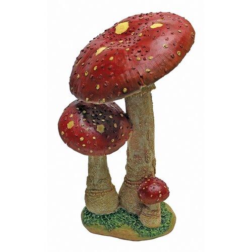 Mystic Forest Mushroom Garden Statue