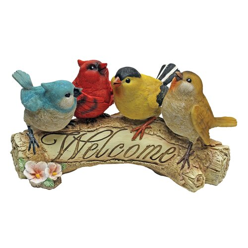 Design Toscano Birdy Welcome Statue