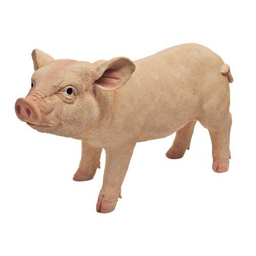 Piggy Garden Porker Statue