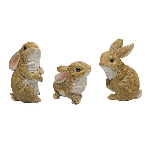 Design Toscano The Bunny Den, Garden Rabbit Statue