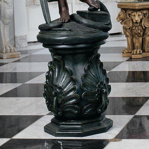 Classic Peacock Riser Statue