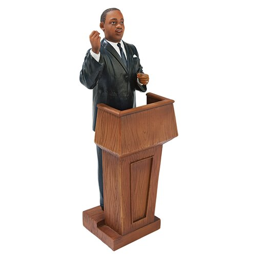 Design Toscano Martin Luther King At the Podium Statue