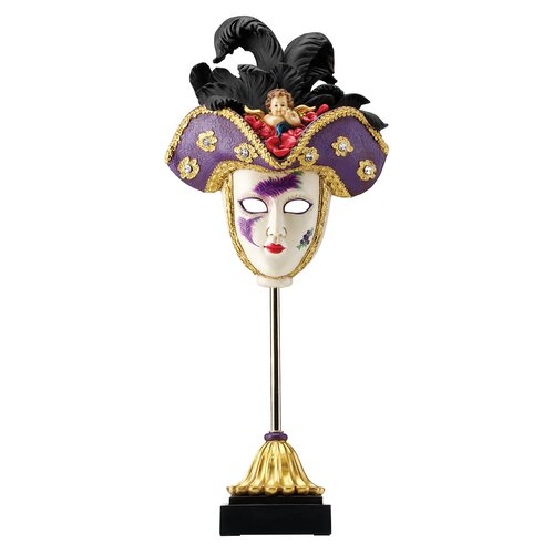 Venetian Grand Ball Display Mask Figurine