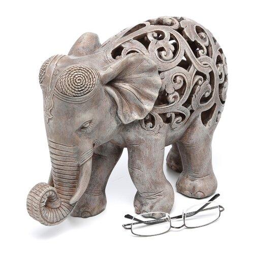 Design Toscano Anjan the Elephant Jali Figurine