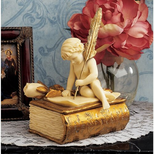 Design Toscano The Love Letter Sculptural Box