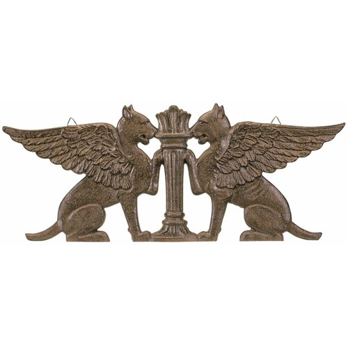Griffin Ornamental Architectural Pediment Figurine