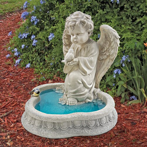 Angel of Peace Reflecting Pool Statue