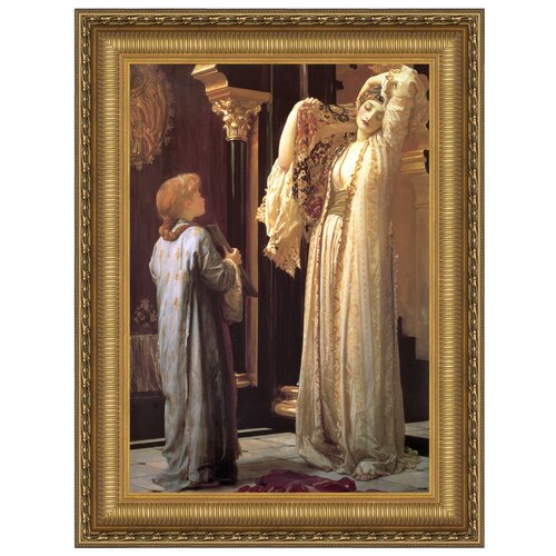 The Light of the Harem, 1880 by Lord Frederic Leighton Framed Painting Print