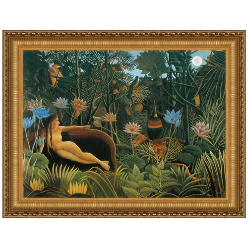 The Dream, 1910 by Henri Rousseau Framed Painting Print