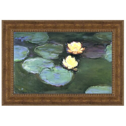 Design Toscano Water Lilies (Nympheas), 1898 by Claude Monet Framed Painting Print