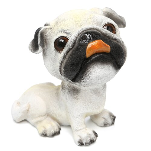 Design Toscano Prized Pup Pug Puppy Dog Statue