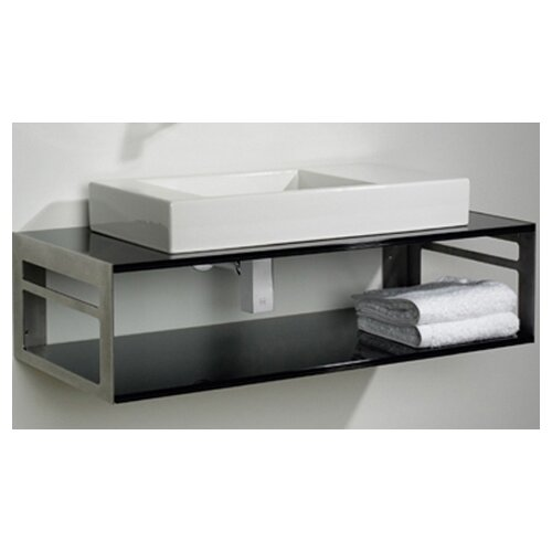 Aeri Bathroom Sink with Shelf