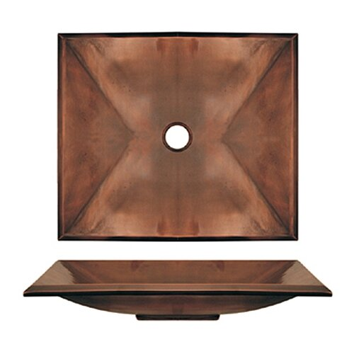 Copperhaus Rectangular Bathroom Sink