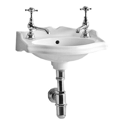 Whitehaus Collection China Rectangular Wall-Mount Bathroom Sink