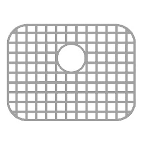 Whitehaus Collection Sink Grid for Noah Double Bowl Undermount Disposal Sink