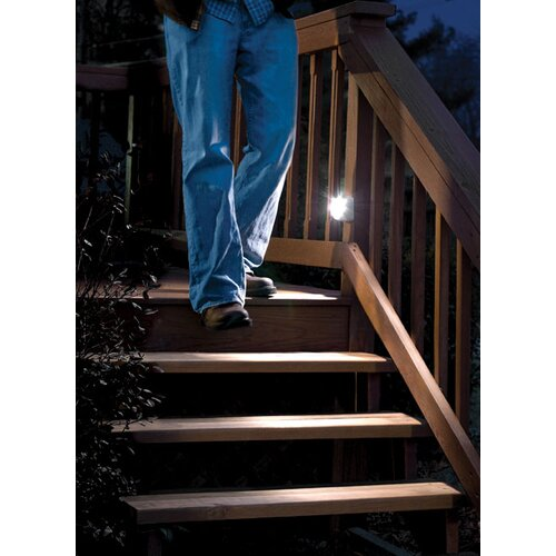 Mr. Beams Battery Powered Motion Sensing LED Step Light (Set of 2)