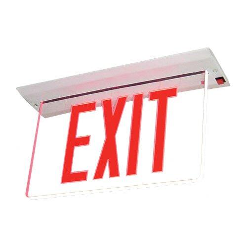 Deco Lighting Single Face Lit LED Exit Sign Light