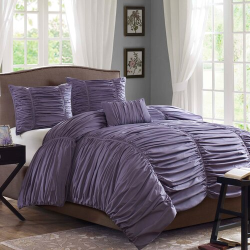 Madison Park Delia 4 Piece Duvet Set