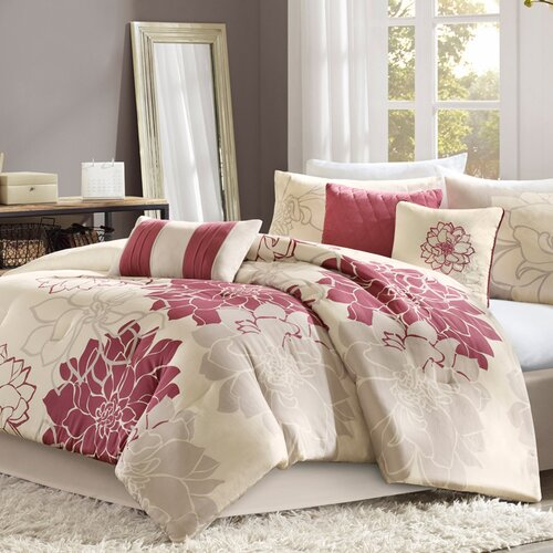 Madison Park Lola 7 Piece Comforter Set Amp Reviews Wayfair