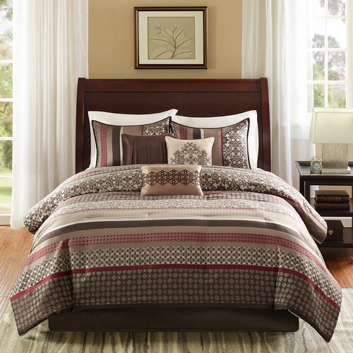 Fancy Bedroom Chairs Modern Zen Bedroom Rustic Chic Bedroom Decor Exclusive Bedroom Sets: Madison Park Princeton 7 Piece Comforter Set & Reviews