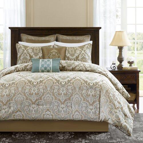 Madison Park Signature Pierce 8 Piece Comforter Set
