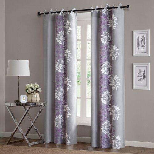 Madison Park Anaya Cotton Grommet Curtain Panel