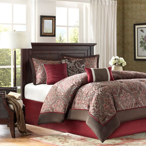 Madison Park Talbot 7 Piece Comforter Set