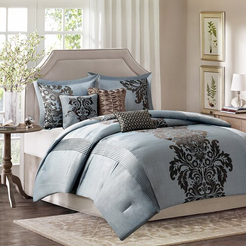 Madison Park Lola 7 Piece Comforter Set Reviews Wayfair