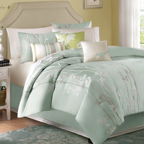 Madison Park Athena 7 Piece Comforter Set Amp Reviews Wayfair