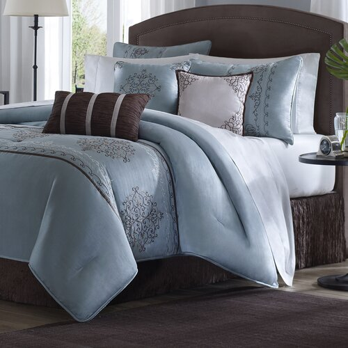 Madison Park Brussel 7 Piece Comforter Set Reviews Wayfair