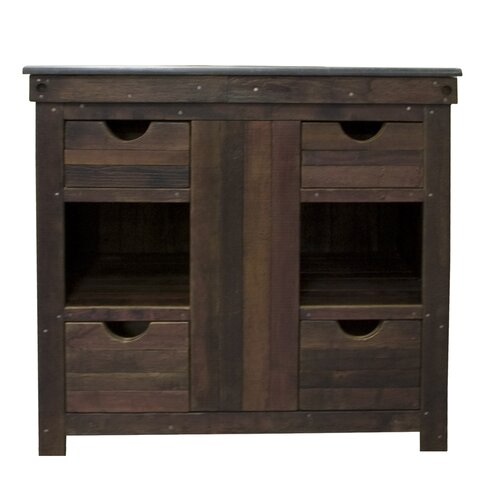 "Native Trails, Inc. Vintner's 36"" Cabernet Vanity Set"