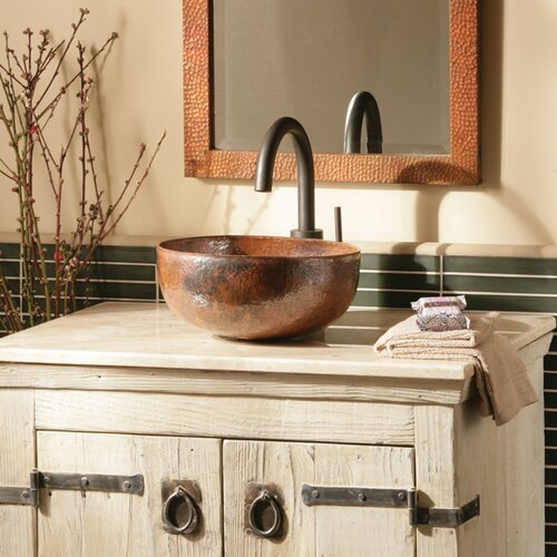 Native Trails, Inc. Maestro Petit Vessel Bathroom Sink