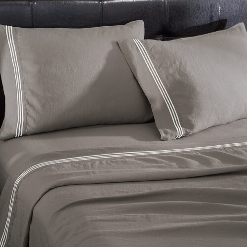 Wildon Home ® Linen 4 Piece Sheet Set