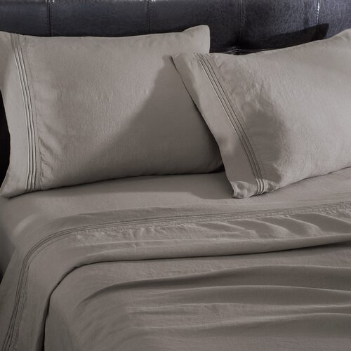 Wildon Home ® Linen 4 Piece Sheet Set