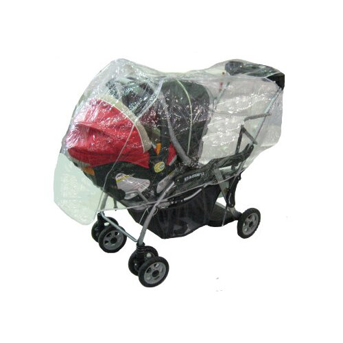 Sasha's Kiddie Products Baby Trend Sit N Stand Stroller Rain and Wind Cover