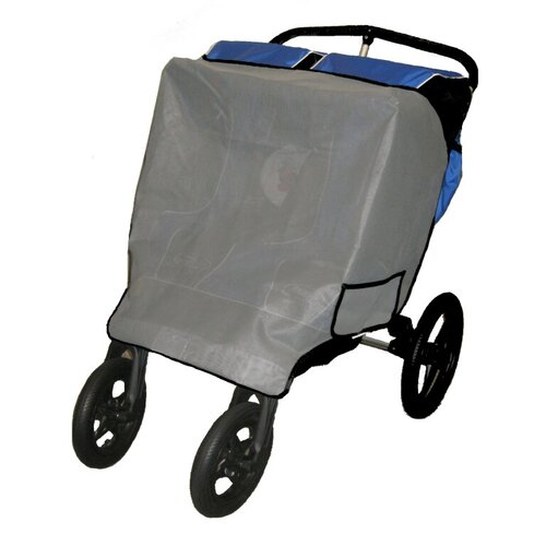 Baby Jogger Summit Double Stroller Sun Wind and Insect Cover