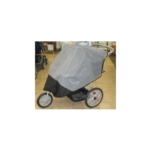 Sasha's Kiddie Products Schwinn Turismo 2011 Double Jogger Sun, Wind and Insect Cover