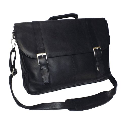 Vaquetta Leather Laptop Briefcase
