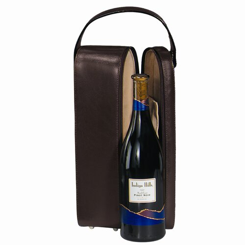 Royce Leather Single Wine Presentation Case