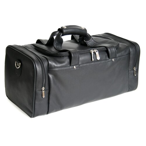 "Royce Leather 21.5"" Leather Sports Duffel"