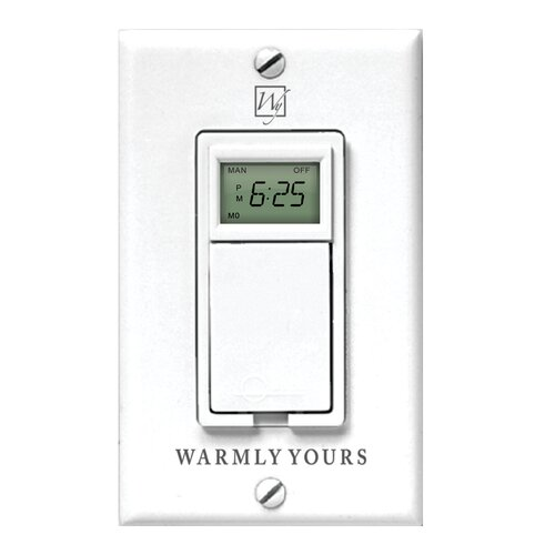 Timer for Radiant Floor Heating Systems