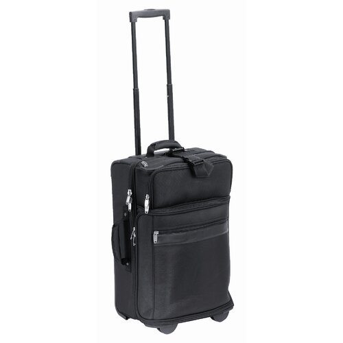 "Preferred Nation Urban Collection 20.5"" 3-in-1 Suitcase in Black"