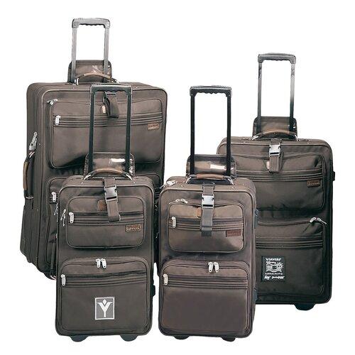 High Voltage Upright 3 Piece Luggage Set