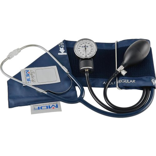 MDF Instruments MDF® Professional Aneroid Sphygmomanometer with Stethoscope