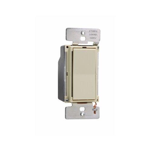 Legrand Leandro 600VA Decorator Preset Low Voltage Single Pole/Three Way Dimmer in Ivory