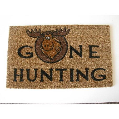 Gone Hunting Doormat